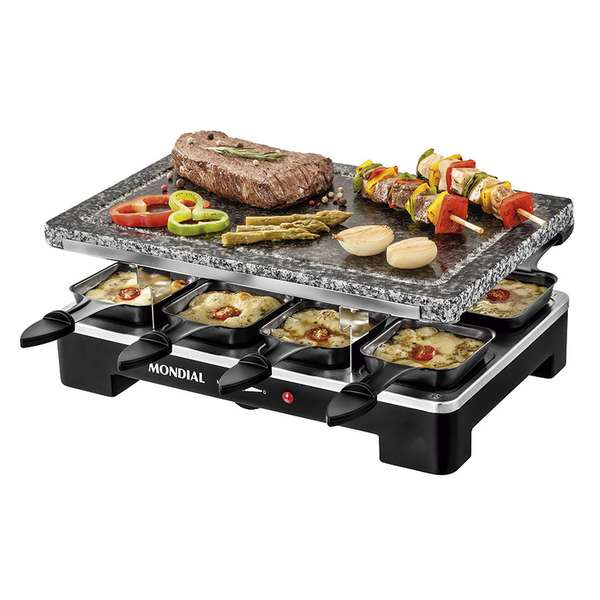RACLETTE+GRILL GOURMET STONE M