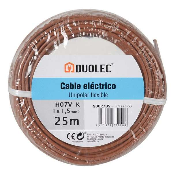 CABLE ELECTRICO 1,5 MMX25M MAR