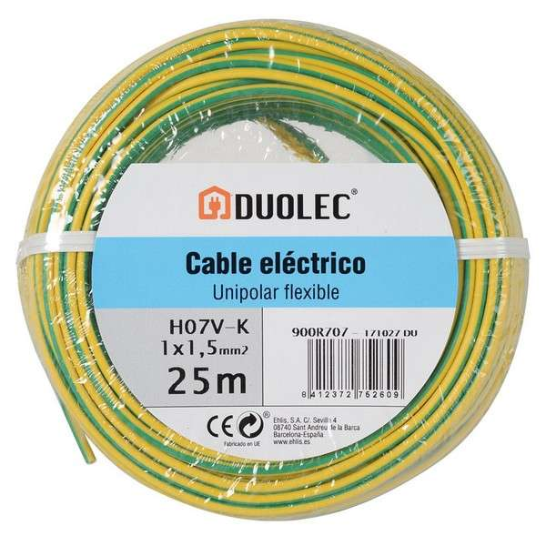CABLE ELECTRICO 1,5 MM X25M AM