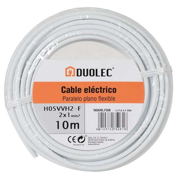 CABLE ELECT.PARALELO 2X1 25M B