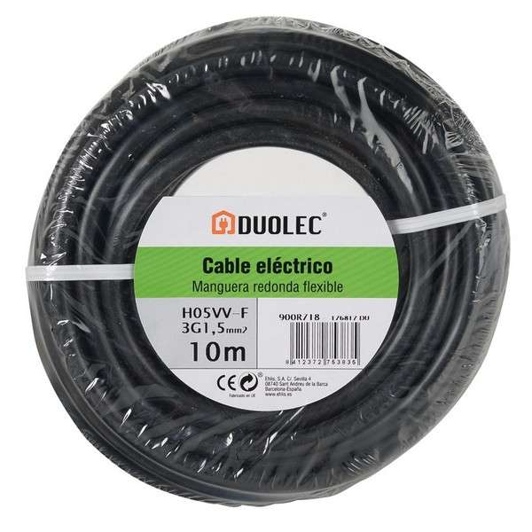 CABLE ELECT.MANG.RED 3X1,5 10M