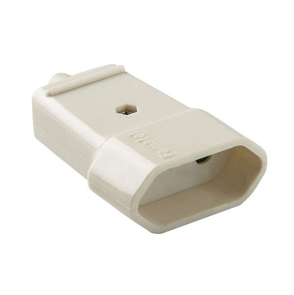 BASE MOVIL 10A - 250V BLANCO D
