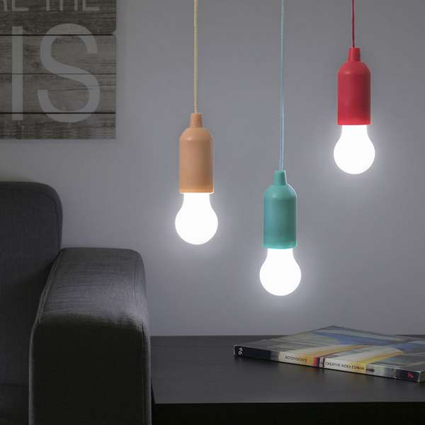 BOMBILLA LED PORTATIL C/CORDON