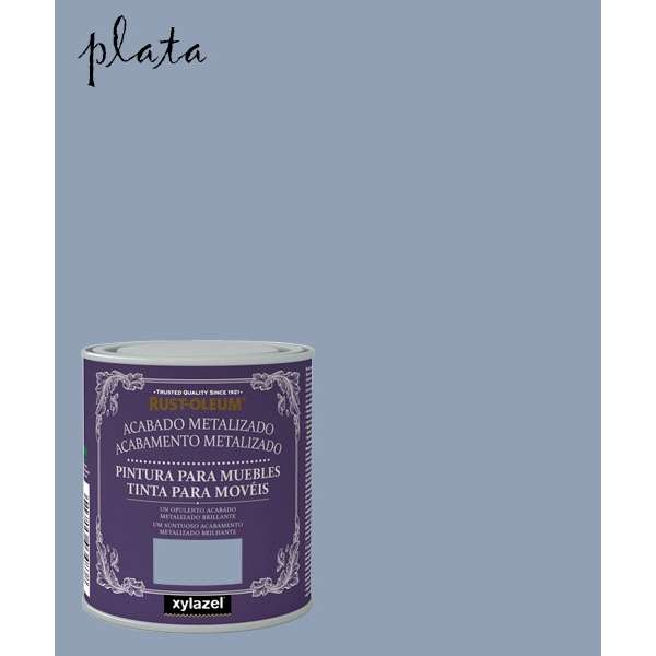XZ CHALKY METAL. PLATA 125ML